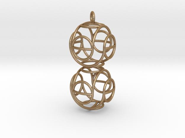 Marble Pendant Theta 3d printed