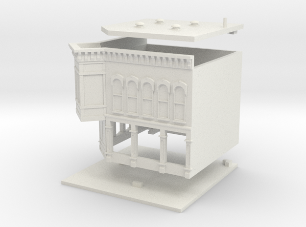 Old Tyme Store - Zscale in White Natural Versatile Plastic