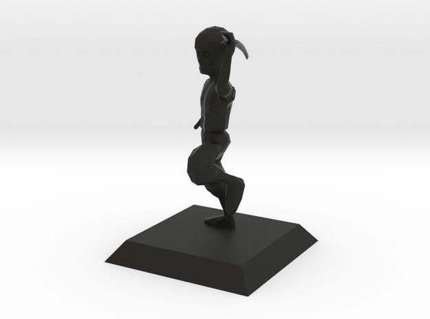 NINJA character from Bruce videogame 3d printed