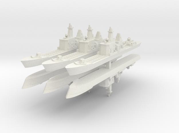 9 CA 1:6000  x6 in White Natural Versatile Plastic