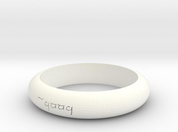 Anna Elf Ring 3d printed