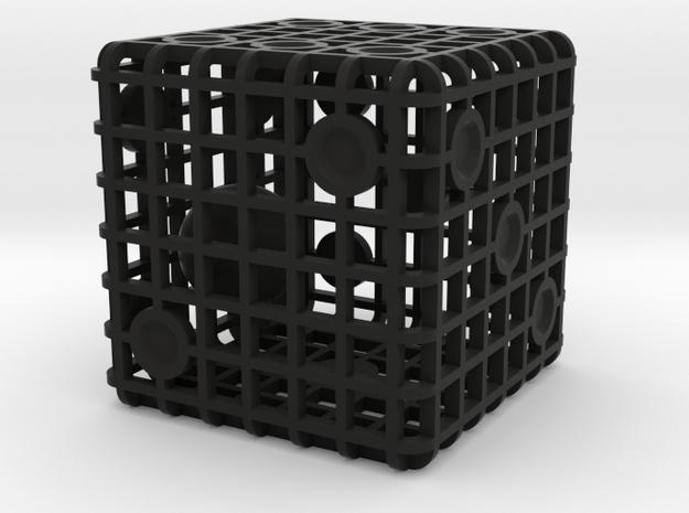Steel Cage Die #1 3d printed
