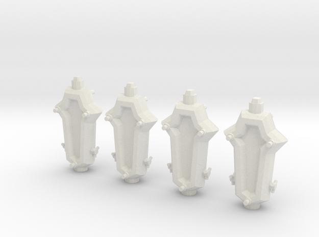 SP103A Stone Portal Frigate (x4) 3d printed