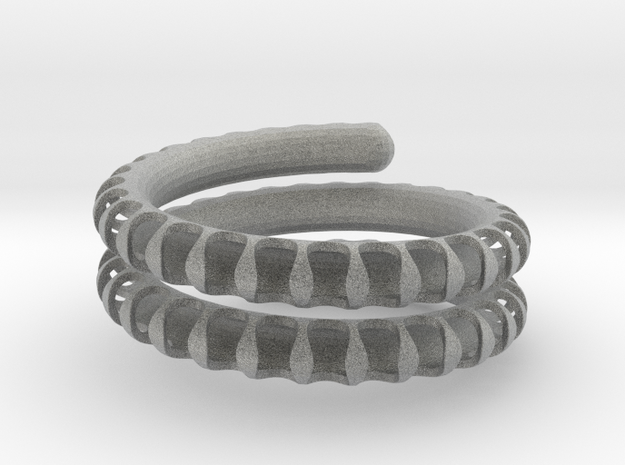 Fossil Coil heavy 3d printed