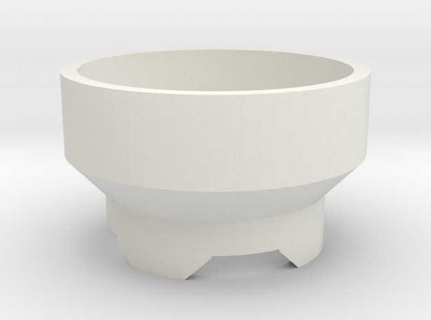 sonicbodypart1 in White Natural Versatile Plastic