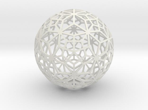 o16 big thin in White Natural Versatile Plastic