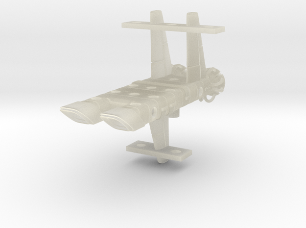 Mulcien Ascraeus Class Dreadnought in Transparent Acrylic