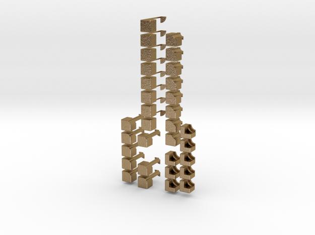2x2x8 Rubiks Cube 3d printed