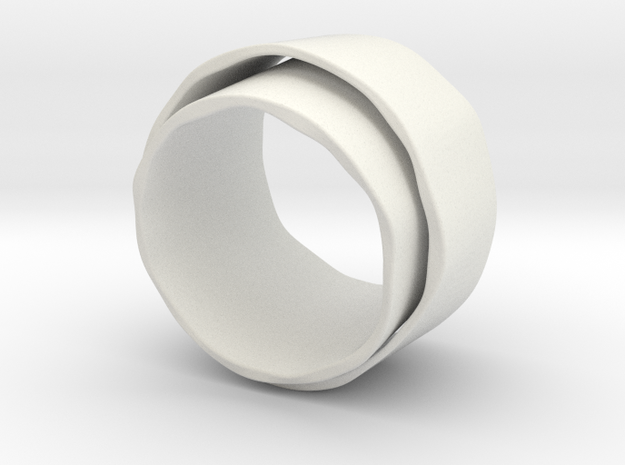 Dubbele ring 3d printed