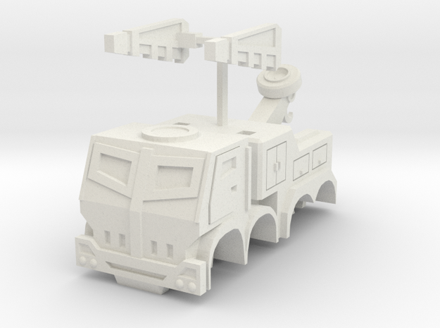 Smaller Hoist Altmode in White Natural Versatile Plastic
