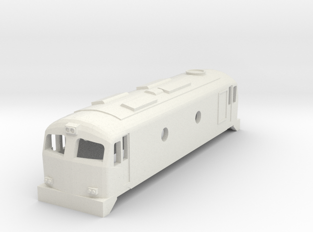 3mm Scale CIE C Class in White Natural Versatile Plastic