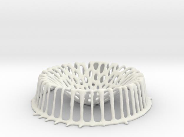 Vorotero L in White Natural Versatile Plastic