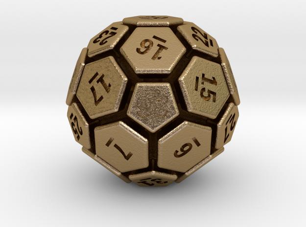 32-BIT SOCCER BALL DIE 3d printed