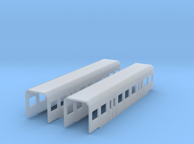 BR 425 Zwischenwagen 1:220 Spur Z 3d printed
