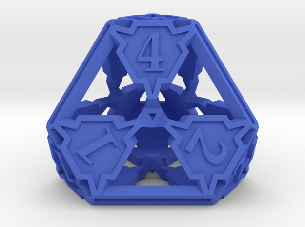 Large Die4 3d printed