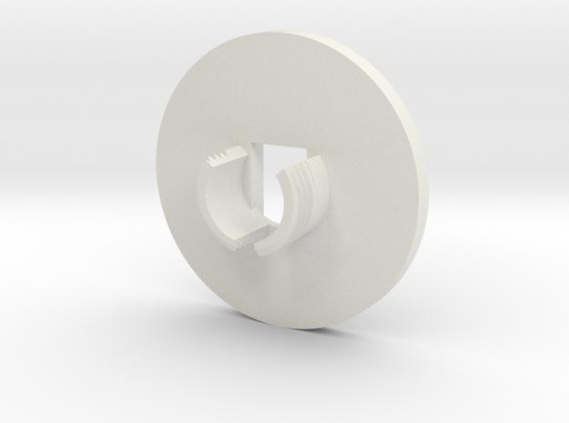 x4 in White Natural Versatile Plastic