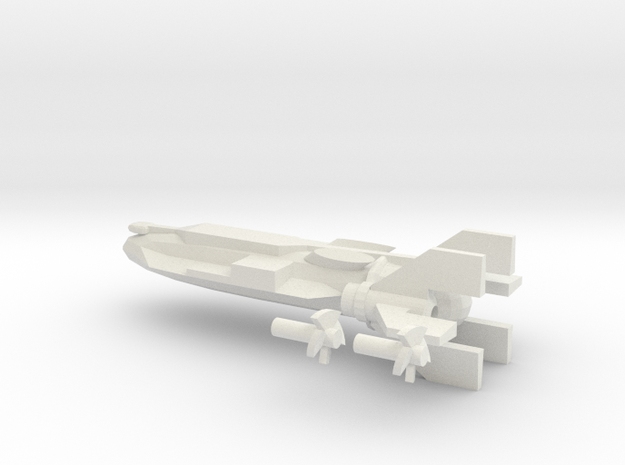 NWM Cruiser Master shape in White Strong & Flexible