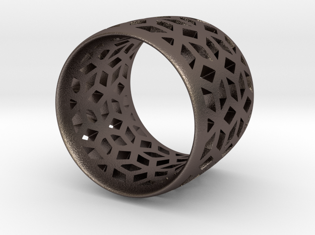 geometric ring 4 3d printed
