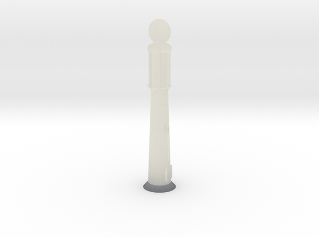 1940''s Gas Pump - Z scale 3d printed
