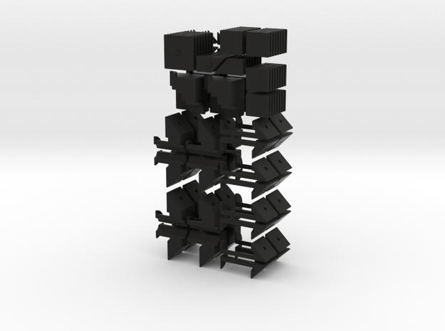 Mini crazy quartet 3d printed
