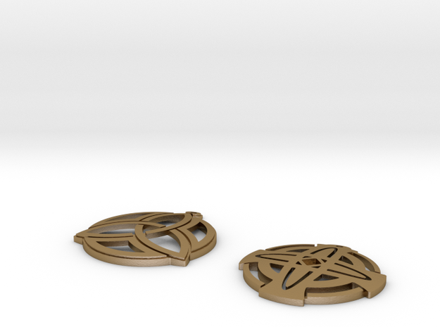 Celtic Earrings 3d printed