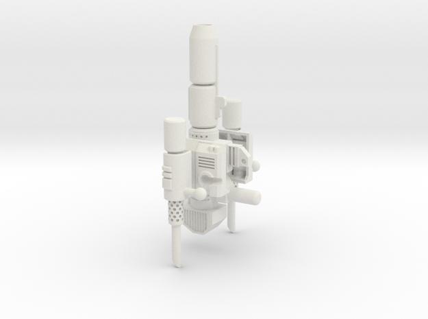 Classics Prime Smokestacks kit mk3 in White Natural Versatile Plastic