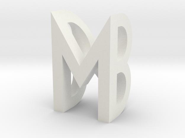 Melanie''s Necklace in White Natural Versatile Plastic