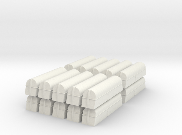 Milk Tank Car - Z Scale 3d printed