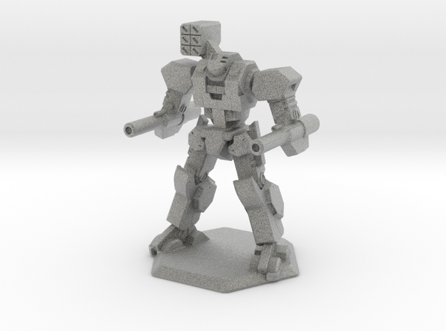 Mecha- Axe (1/160th) 3d printed