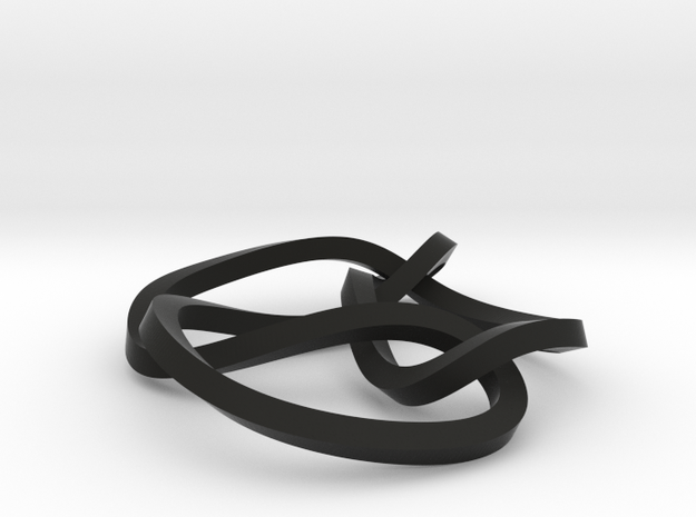 6-3 mobius knot small 3d printed
