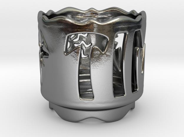 Candleholder for Tim (color) 3d printed