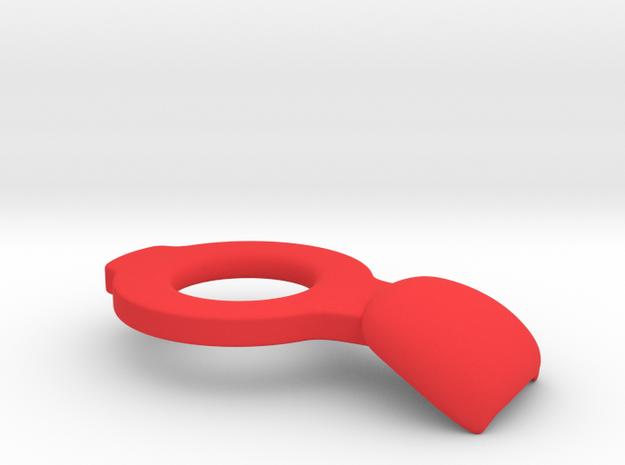 Pauldron T.T (tbn) in Red Processed Versatile Plastic