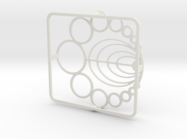 Burner Grate in White Natural Versatile Plastic
