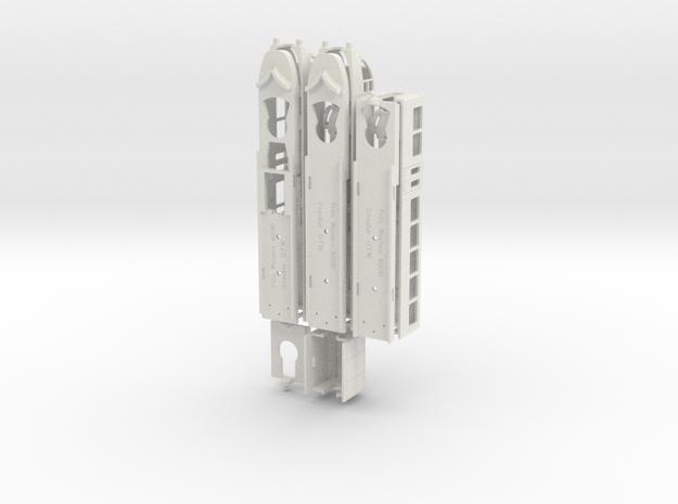 GTW2/8 Electrisch in White Natural Versatile Plastic