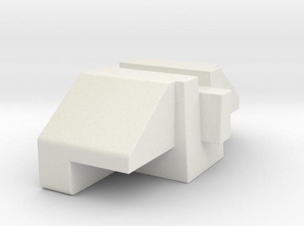 Superion Filler 3 in White Natural Versatile Plastic