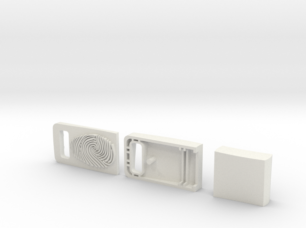 Usb Case Concept Redesign 3d printed