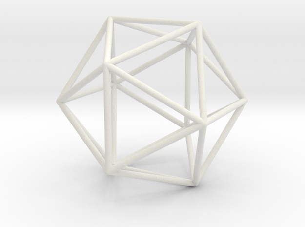 Icosahedron in Transparent Acrylic
