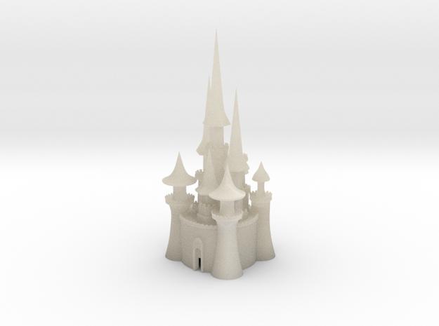 castle 4 in White Acrylic