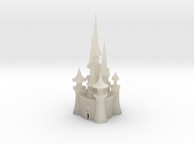 castle 3 in White Acrylic