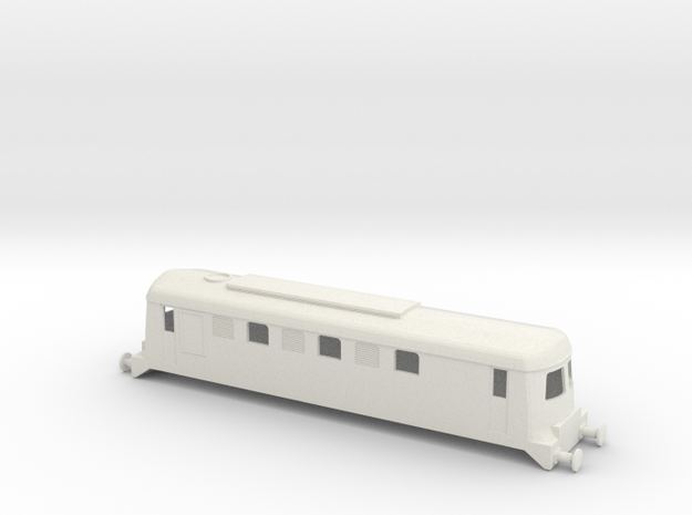 CIE B Class Sulzer Locomotive OO Scale in White Natural Versatile Plastic