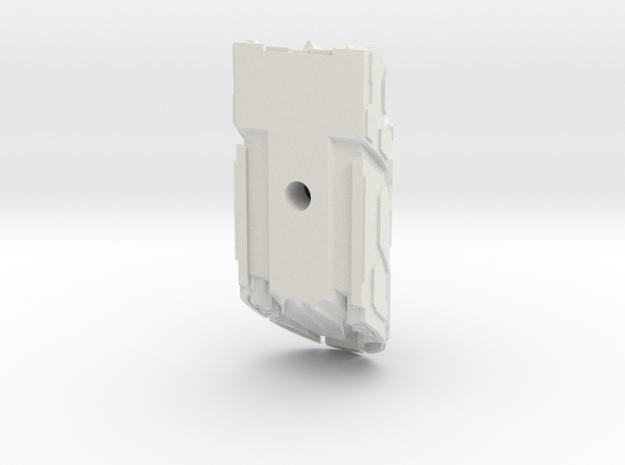 Gatecrasher closed in White Natural Versatile Plastic