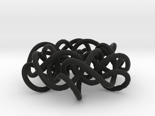 Prime Knot 6.63 3d printed