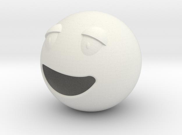 Smile3_bigger in White Natural Versatile Plastic