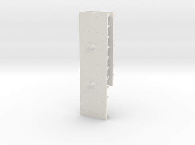 GTW 2/6 Banken in White Natural Versatile Plastic