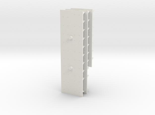 GTW 2/8 Banken in White Natural Versatile Plastic