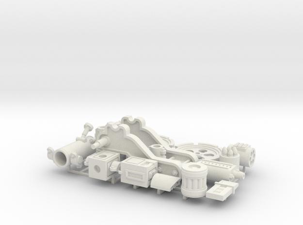 W4K10 MK4 Gun Kit in White Natural Versatile Plastic