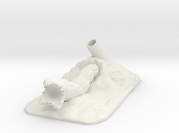 Pen Holder Desert Worm 3d printed