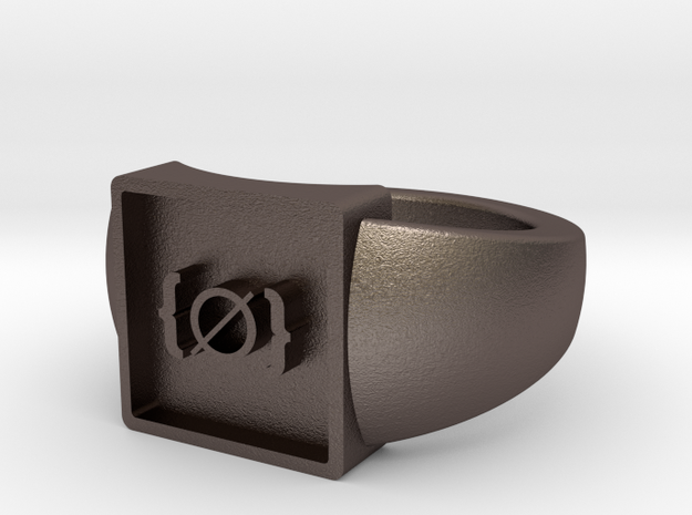 Unallocated Space ring 3d printed