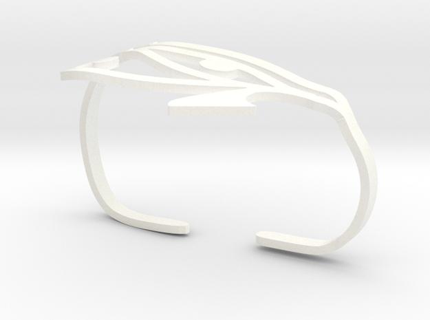 Eye of Horus Two Finger Ring 3d printed