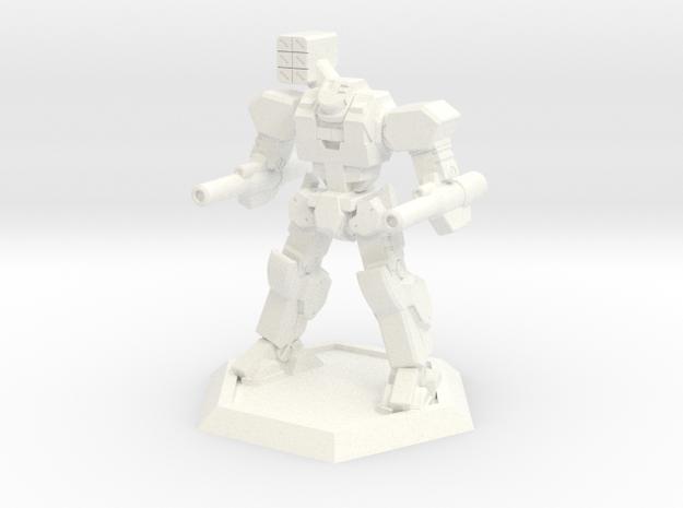 Mecha- Axe (1/500th) 3d printed